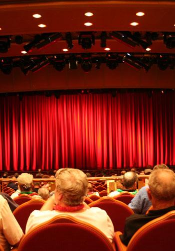 Teatro, cinema, dança
